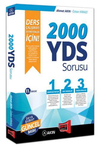 Akın Dil & Yargı Yayınları 2000 YDS Sorusu Ders Çalışmayı Sevmeyenler İçin 11. Baskı