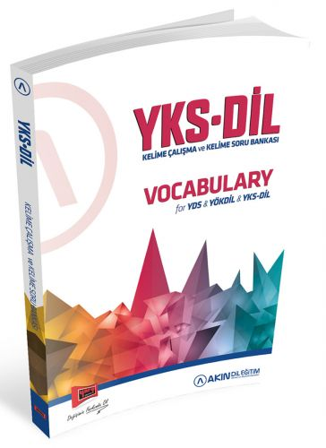 Akın Dil & Yargı Yayınları YKSDİL Vocabulary Kelime Çalışma ve Kelime Soru Bankası