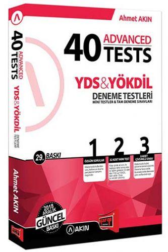 Akın Dil & Yargı Yayınları YDS & YÖKDİL 40 Advanced Tests 29. Baskı