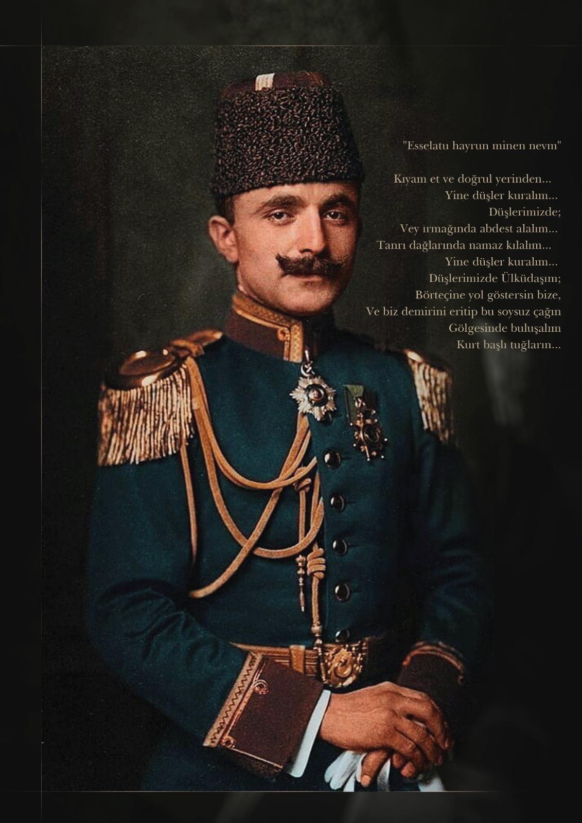Enver Paşa Posteri