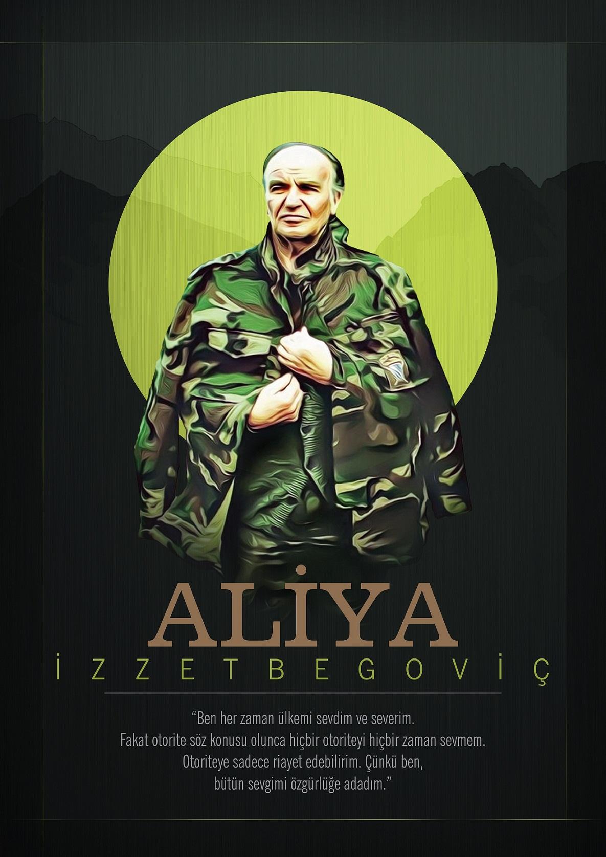 Aliya İzzetbegoviç Posteri