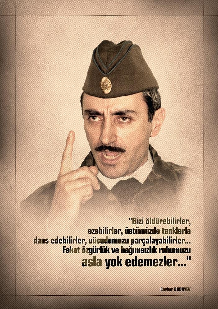 Cevher Dudayev Posteri