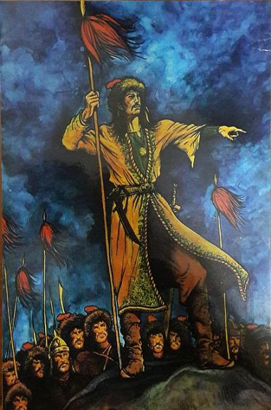 Ergenekon Ahşap Tablo