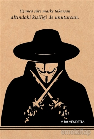 V For Vendetta - Kraft Defter