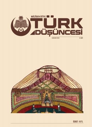 Maziden Atiye Türk Düşüncesi Dergisi Sayı: 6 İlkbahar 2020