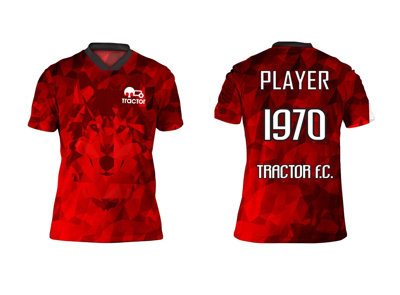 Kızıl Kurt Tasarım Forma