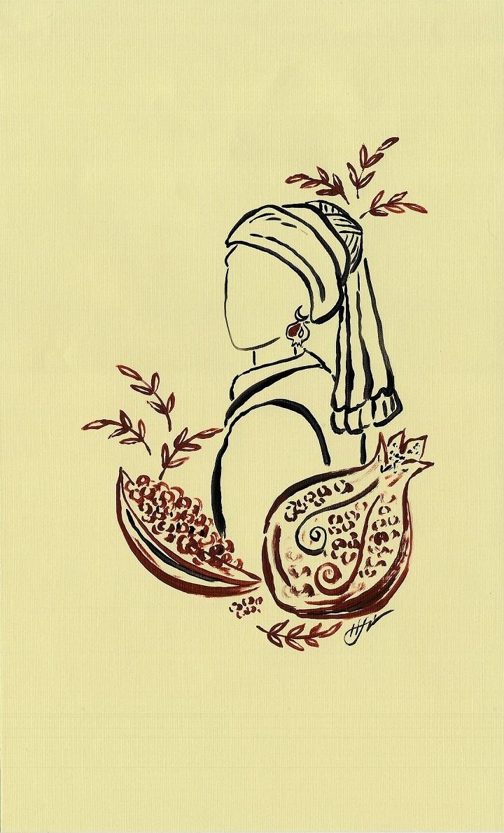 İnci Küpeli Kız Kanvas Tablo